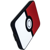 POKEMON Pokerball Portable Power Bank - Red & White, Red