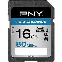 PNY High Performance Class 10 SDHC Memory Card - 16 GB