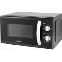SWAN SM40010BLKN Solo Microwave - Black, Black