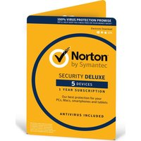 NORTON  Security 2016 - 5 devices 1 year
