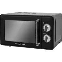 RUSSELL HOBBS  RHRETMM705B Solo Microwave - Black, Black