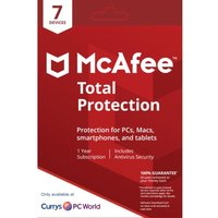 MCAFEE Total Protection - 1 user / 7 devices for 1 year