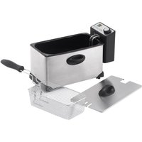 LOGIK  L30PFS12 Professional Deep Fryer – Stainless steel, Stainless Steel