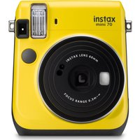 FUJIFILM  Instax Mini 70 Instant Camera - 10 Shots Included, Yellow, Yellow