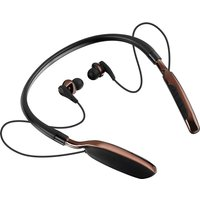 GOJI GTCNBBT17 Wireless Bluetooth Headphones - Black & Brown, Black