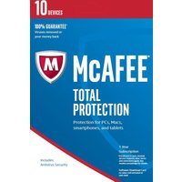MCAFEE  Total Protection 2016 - 10 users for 1 year