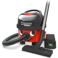 NUMATIC Henry Cordless Vacuum Cleaner - Red, Red