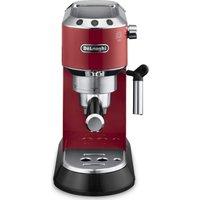 DELONGHI Dedica EC680R Coffee Machine - Red, Red