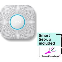KNOWHOW Hard Wired Protect 2nd Generation Smoke and Carbon Monoxide Alarm & Installation Bundle