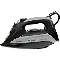 BOSCH TDA5072GB Steam Iron - Black & Grey, Black