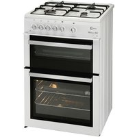 FLAVEL ML61NDWP FSD Gas Cooker - White, White