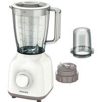 PHILIPS HR2102/01 Daily Blender - White & Beige, White