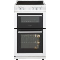 BELLING FS50EDOC 50 cm Electric Ceramic Cooker - White, White