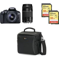 CANON EOS 1300D DSLR Camera, Twin Lenses & Accessories Bundle