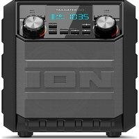 ION Tailgater Go Portable Bluetooth Wireless Speaker - Black, Black