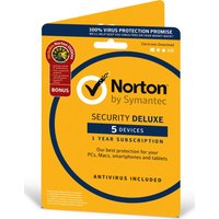 NORTON  Norton Security Deluxe & Norton Utilities - 5 Devices