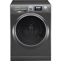 HOTPOINT Ultima S-Line RZ1066B Washing Machine - Black, Black