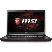 MSI GP72 7RD 17.3 Gaming Laptop - Black, Black