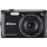 NIKON COOLPIX A300 Compact Camera - Black, Black