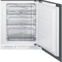 SMEG UKUD7108FSEP Integrated Undercounter Freezer - White, White