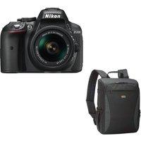 NIKON D5300 DSLR Camera, 18-55 mm f/3.5-5.6 Lens & Camera Backpack Bundle