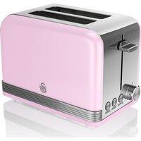 SWAN ST19010PN 2-Slice Toaster - Pink, Pink
