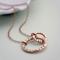Personalised Rose Gold Link Necklace