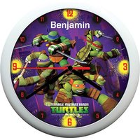 Personalised Clock - Turtles