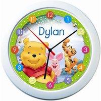 Personalised Clock - Disney Winnie the Pooh