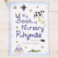 Personalised My Book of Nursery Rhymes Softback Book