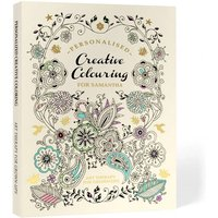 Personalised Creative Colouring Softback