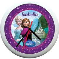 Personalised Clock - Disney Frozen