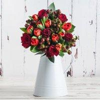 Festive Rose & Tulips
