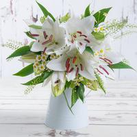 White Lily & Daisy
