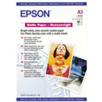 Epson (A3) Heavy Weight Matte Paper (50 Sheets) 167gsm lowest price