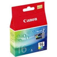 Canon BCI-16 - 2-pack - colour (cyan, magenta, yellow) - original - ink tank