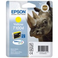 Epson T1004 - yellow - 815 pages - original - ink cartridge