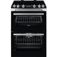 ZCI66278XA 60cm Electric Double Oven with Induction Hob