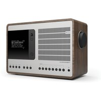 SuperConnect DAB Internet Radio With Spotify - Walnut / Silver - Internet Gifts