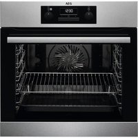BES25101LM Built In Electric Steam Bake Single Oven - Stainless Steel
