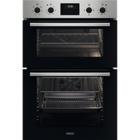 ZKCXL3X1 56cm Built In Electric Double Oven   Stainless Steel