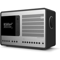 SuperConnect DAB Internet Radio With Spotify - Matt Black / Silver - Internet Gifts