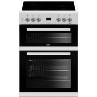 EDC633W 60cm Double Oven Electric Cooker with Ceramic Hob