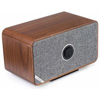 MRx Bluetooth Connected Wireless Speaker System - Rich Walnut Veneer - Simply Electricals Gifts