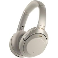 WH1000XM3SCE7 Over Ear Wireless Noise Cancelling Headphones - Silver - Music Gifts