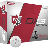 Staff DX3 Soft Spin Golfbälle