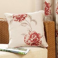 Red Cotswold Cushion Cover 18 x 18