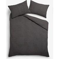 Next Super Soft Fleece Bed Set - Grey