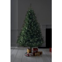 Next Lit 6ft Woodland Pine Christmas Tree - Green