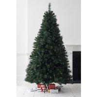 Next Lit 7ft Woodland Pine Christmas Tree - Green